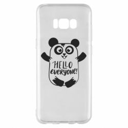 Чехол для Samsung S8+ Happy panda