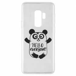 Чехол для Samsung S9+ Happy panda