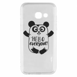 Чехол для Samsung A3 2017 Happy panda