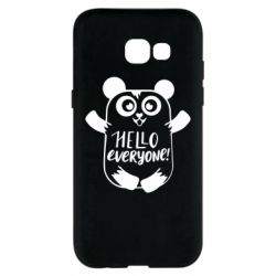 Чехол для Samsung A5 2017 Happy panda