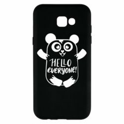 Чехол для Samsung A7 2017 Happy panda