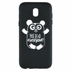 Чехол для Samsung J5 2017 Happy panda