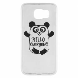 Чехол для Samsung S6 Happy panda