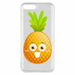 Чехол для Xiaomi Mi6 Happy pineapple