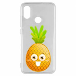 Чехол для Xiaomi Mi8 Happy pineapple
