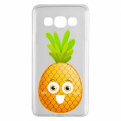 Чохол для Samsung A3 2015 Happy pineapple