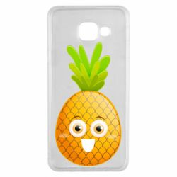 Чохол для Samsung A3 2016 Happy pineapple