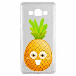 Чехол для Samsung A5 2015 Happy pineapple