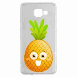 Чехол для Samsung A5 2016 Happy pineapple