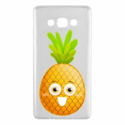 Чехол для Samsung A7 2015 Happy pineapple