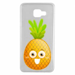 Чехол для Samsung A7 2016 Happy pineapple