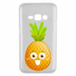 Чехол для Samsung J1 2016 Happy pineapple
