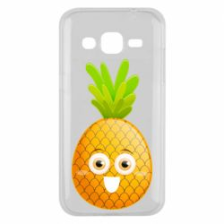Чохол для Samsung J2 2015 Happy pineapple
