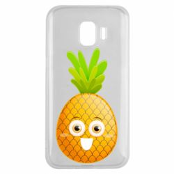 Чехол для Samsung J2 2018 Happy pineapple