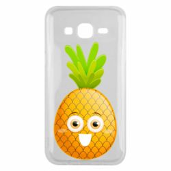Чехол для Samsung J5 2015 Happy pineapple