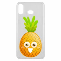 Чохол для Samsung A6s Happy pineapple