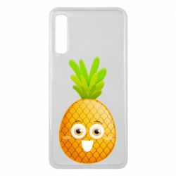 Чехол для Samsung A7 2018 Happy pineapple