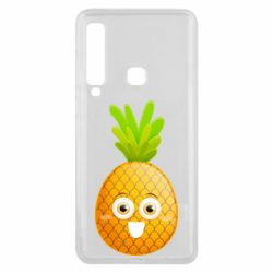 Чехол для Samsung A9 2018 Happy pineapple
