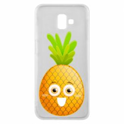 Чохол для Samsung J6 Plus 2018 Happy pineapple