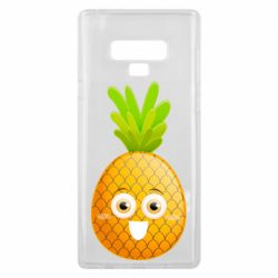 Чехол для Samsung Note 9 Happy pineapple