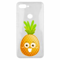 Чехол для Xiaomi Mi8 Lite Happy pineapple