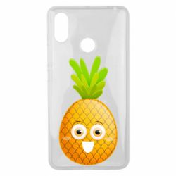 Чехол для Xiaomi Mi Max 3 Happy pineapple