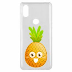 Чехол для Xiaomi Mi Mix 3 Happy pineapple