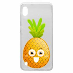 Чехол для Samsung A10 Happy pineapple