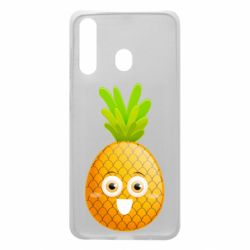 Чехол для Samsung A60 Happy pineapple
