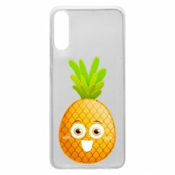 Чехол для Samsung A70 Happy pineapple