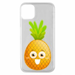 Чехол для iPhone 11 Pro Happy pineapple