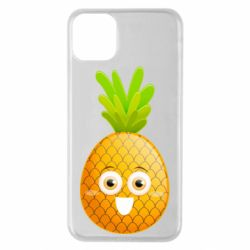 Чехол для iPhone 11 Pro Max Happy pineapple