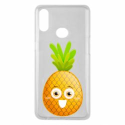 Чехол для Samsung A10s Happy pineapple