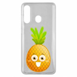Чехол для Samsung M40 Happy pineapple