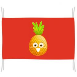 Флаг Happy pineapple