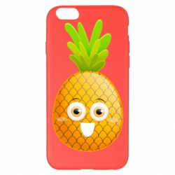 Чехол для iPhone 6 Plus/6S Plus Happy pineapple