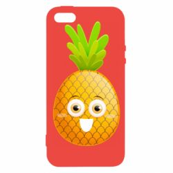 Чохол для iphone 5/5S/SE Happy pineapple