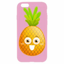 Чехол для iPhone 6/6S Happy pineapple