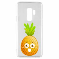 Чехол для Samsung S9+ Happy pineapple