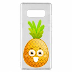 Чехол для Samsung Note 8 Happy pineapple