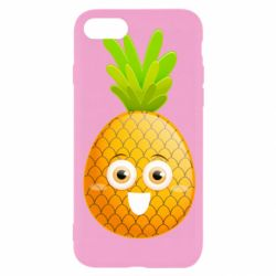 Чехол для iPhone 8 Happy pineapple
