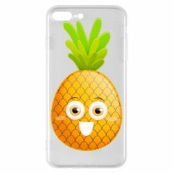 Чехол для iPhone 8 Plus Happy pineapple