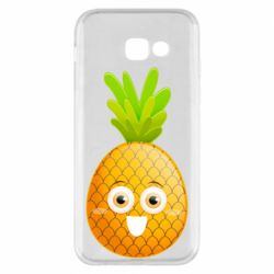 Чехол для Samsung A5 2017 Happy pineapple