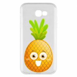 Чехол для Samsung A7 2017 Happy pineapple