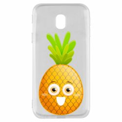 Чехол для Samsung J3 2017 Happy pineapple