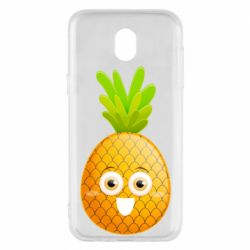 Чехол для Samsung J5 2017 Happy pineapple