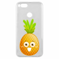 Чехол для Xiaomi Mi A1 Happy pineapple