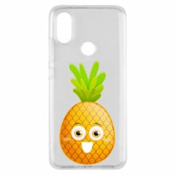 Чехол для Xiaomi Mi A2 Happy pineapple