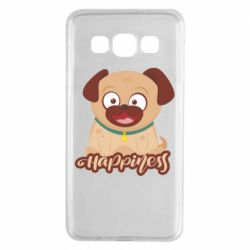 Чехол для Samsung A3 2015 Happy pug
