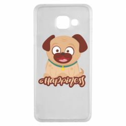 Чехол для Samsung A3 2016 Happy pug